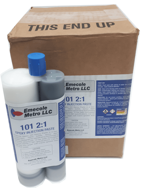 Epoxy Tubeset E101 Injection Paste for Large Cracks