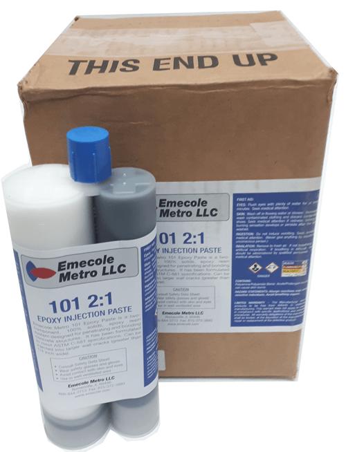 E101  Epoxy Injection Paste Epoxy for Large Cracks