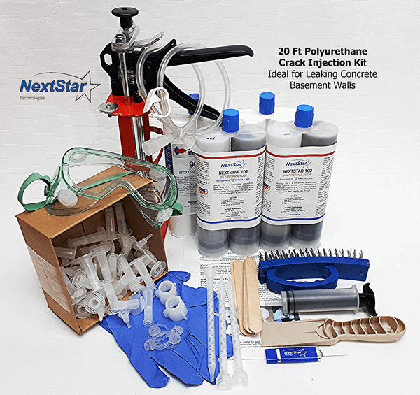 20ft polyurethane injection kit
