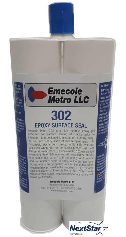 Paste 302 Port Setting Epoxy 600ml Cartridge