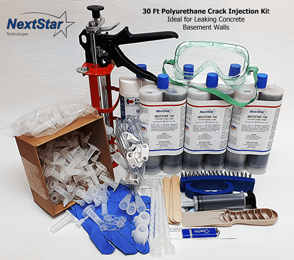 30ft polyurethane injection kit