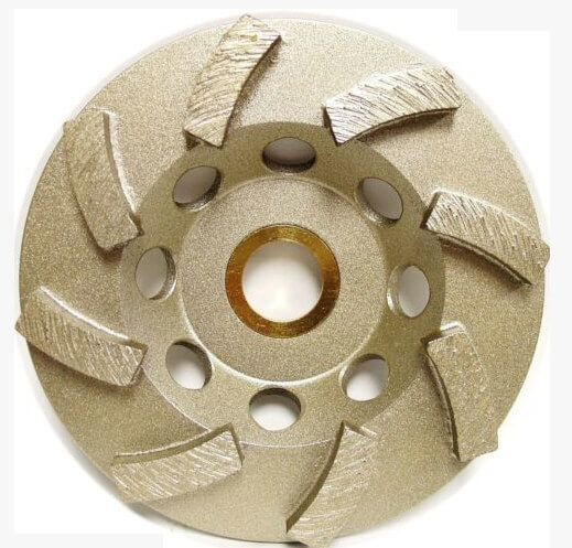 Tool Diamond Swirly Cup Grinding Wheel 4 Inch 8 Seg