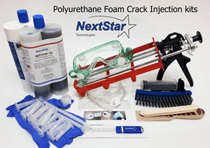 Polyurethane Crack Injection kits