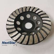 Diamond Swirly Cup Grinding Wheel 4.5in for concrete