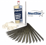 Carbon Fiber Grid Stitch Concrete Repair Kit