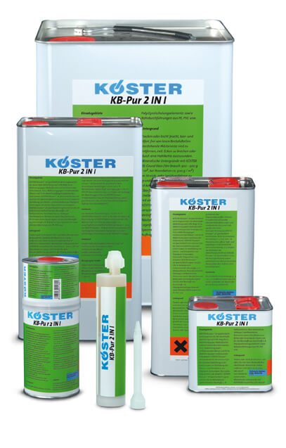 Koster KB Pur 2 IN1 polyurethane 6 gallon kit