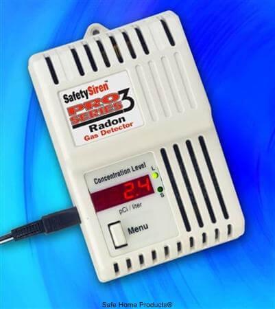 Radon Pro 3 Radon Test Monitor