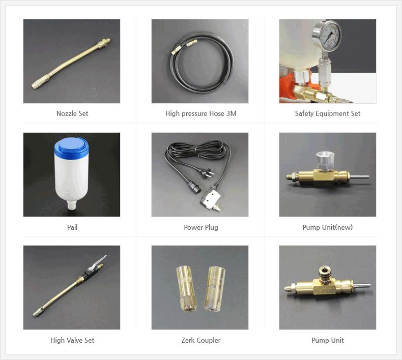 Single componet PU polyurethane High Pressure crack injection pump
