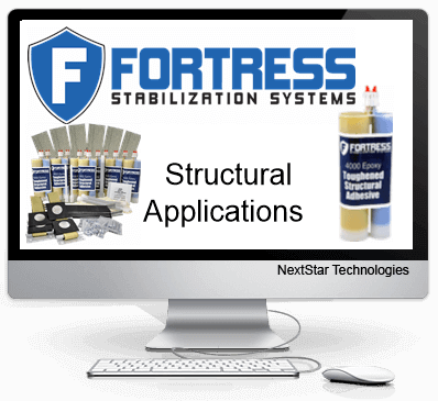 Fortress 4000 Epoxy and structural applications