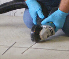 flat work and slab repair restorations with polyurethanes epoxy anf hybrid polyura