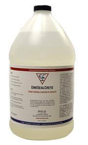 EmeSealCrete  Moisture - Radon sealer