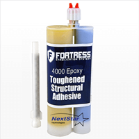 Carbon Fiber Epoxy Fortress 4000 450ml with Mixer