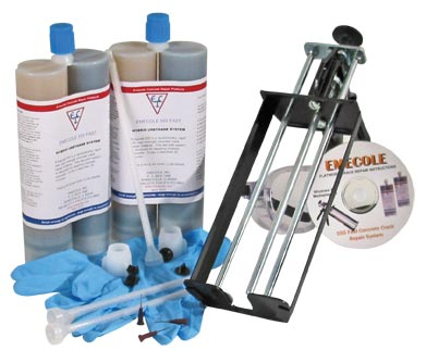 Emecole E555 Fast Cracked Concrete Slab kit