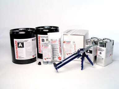 roadware is the maker of matchcrete  and  10 minute mender  by roadware  for concrete.