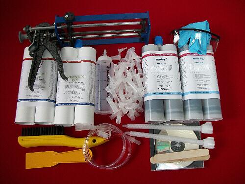 Polyurethane 20 ft Crack Injection Repair Kit 5