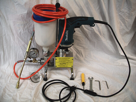 Single Star Polyurethane injection pump