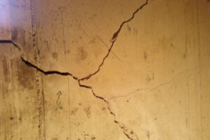 Structural and non structural crack repair with polyurethane or epoxy injection Basement carbon fiber wall repair